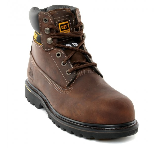 Bottines homme - CATERPILLAR - Marron fonce