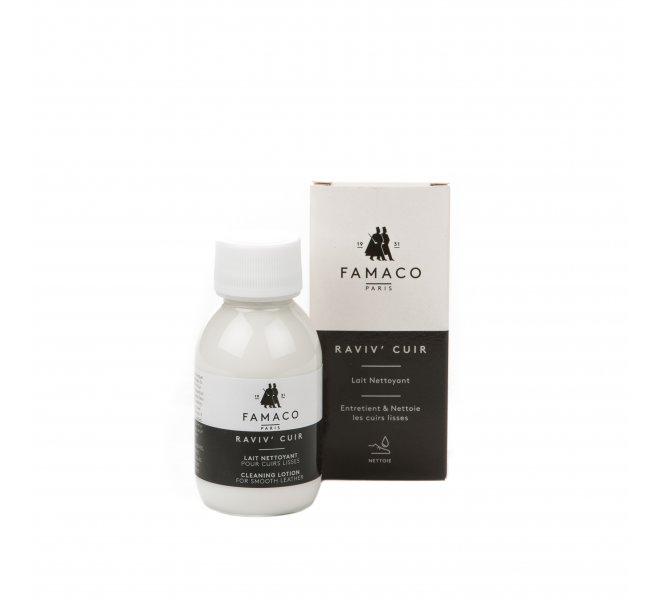 Raviv cuir 100ml lait nettoyant cuirs lisses