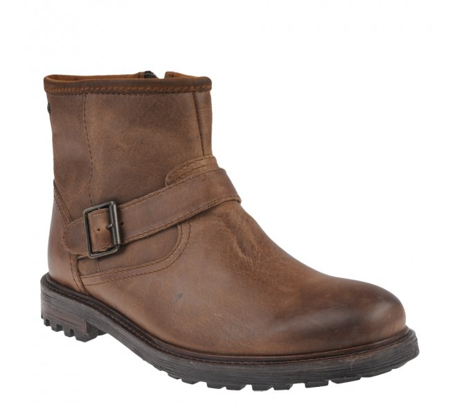 Boots homme - BASE LONDON - Naturel