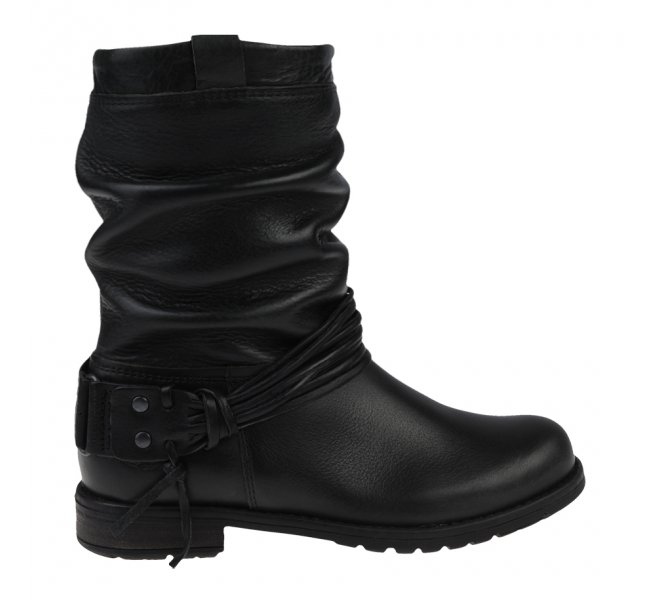 Boots fille - LITTLE DAVID - Noir