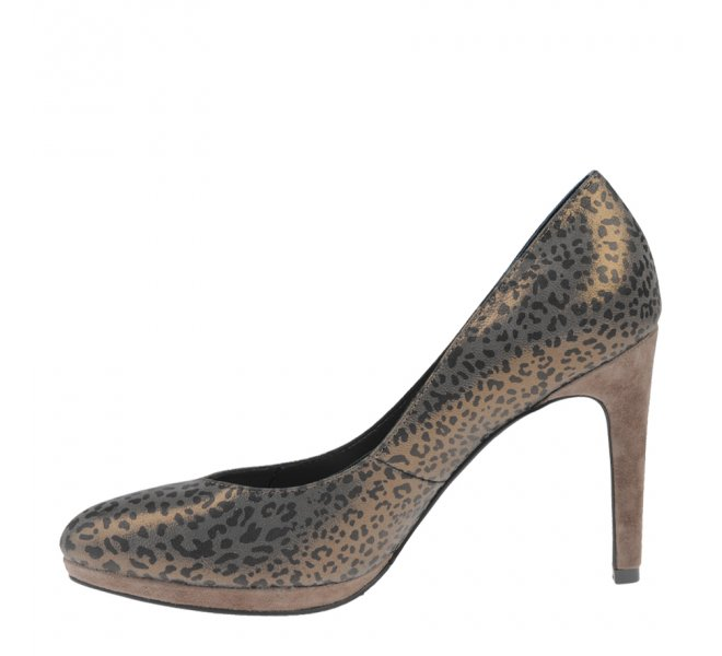 Escarpins femme - DI LAURO - Leopard
