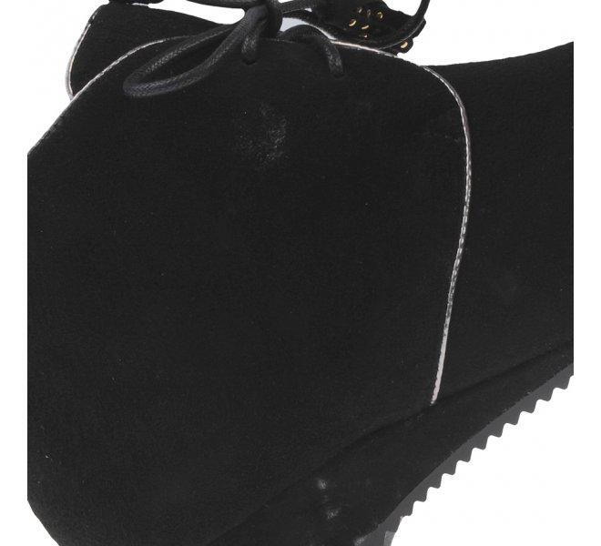 Bottines femme - DI LAURO - Noir
