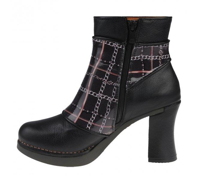 Boots femme - ART - Noir