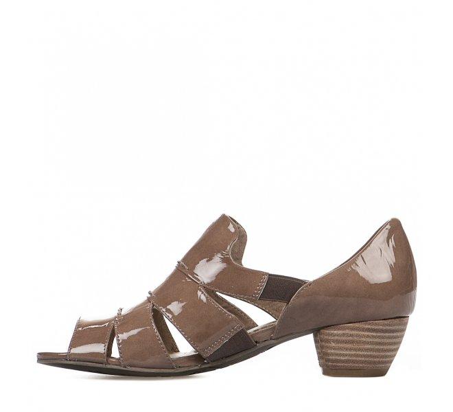 Chaussures de confort femme - REGARDE LE CIEL - Taupe