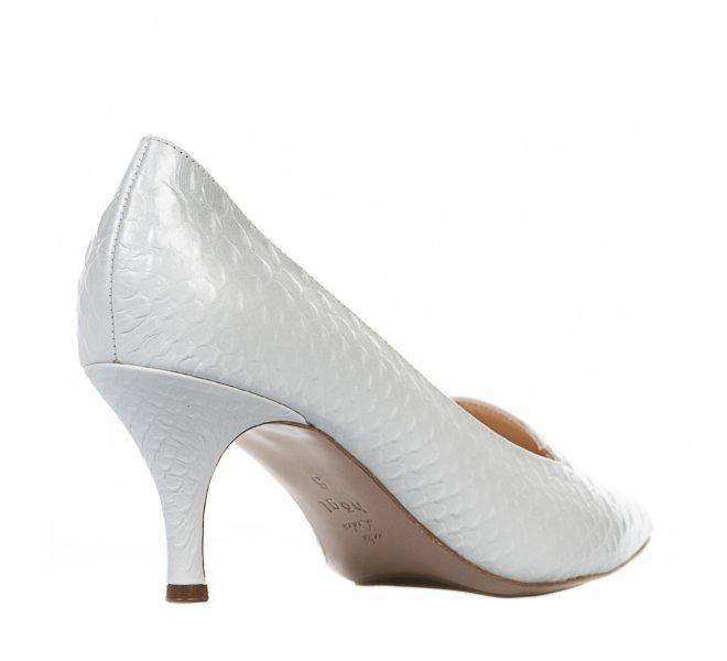 Escarpins femme - HOGL - Blanc casse