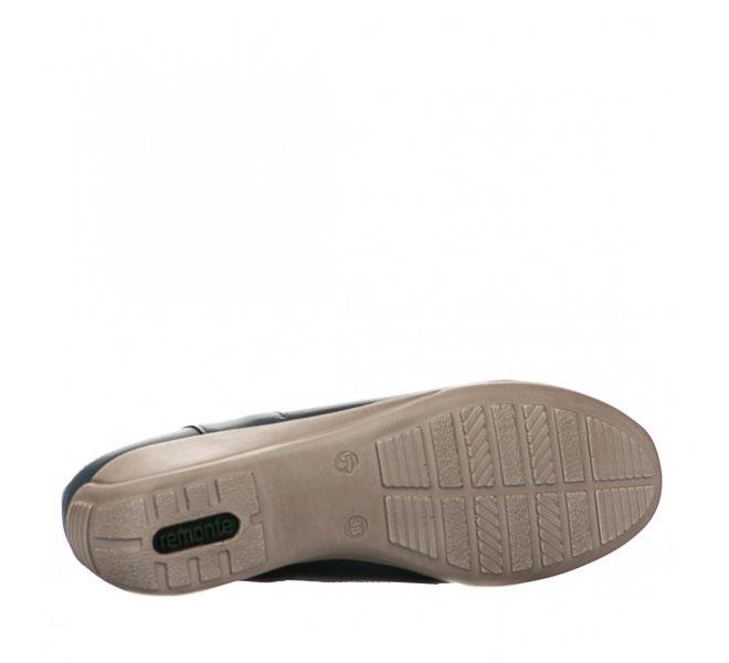 Chaussures de confort femme - REMONTE - Bleu