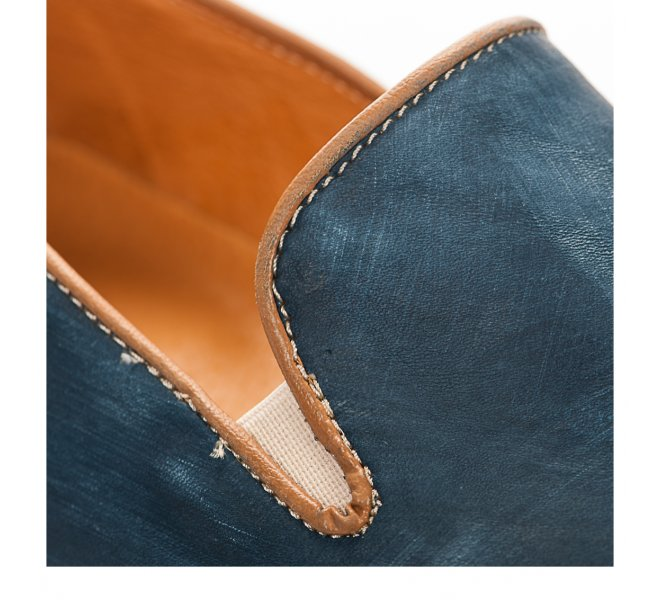 Slip On homme - FIRST COLLECTIVE - Bleu