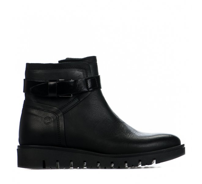 Boots fille - COMPAGNUCCI - Noir