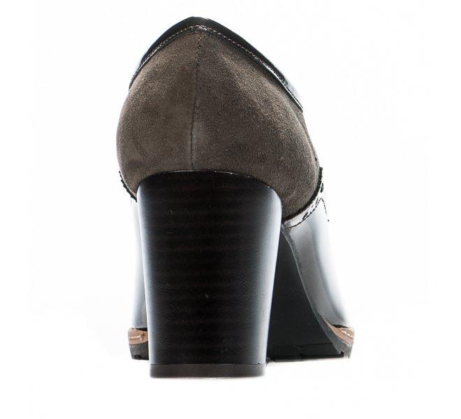 Chaussures à lacets femme - CYPRES - Marron verni