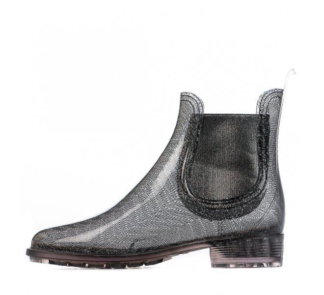 Boots femme - CUBANAS - Gris argent