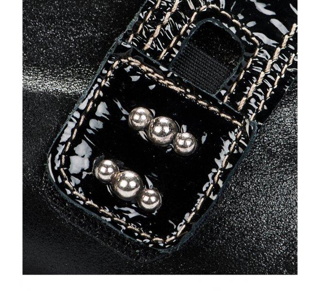 Chaussures de confort femme - UN TOUR EN VILLE - Noir