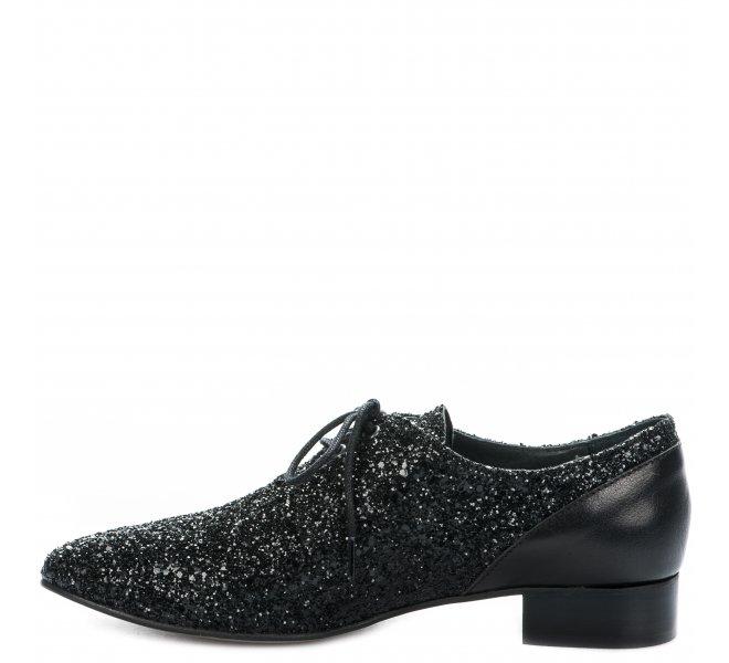 Chaussures à lacets femme - AMBIANCE - Noir
