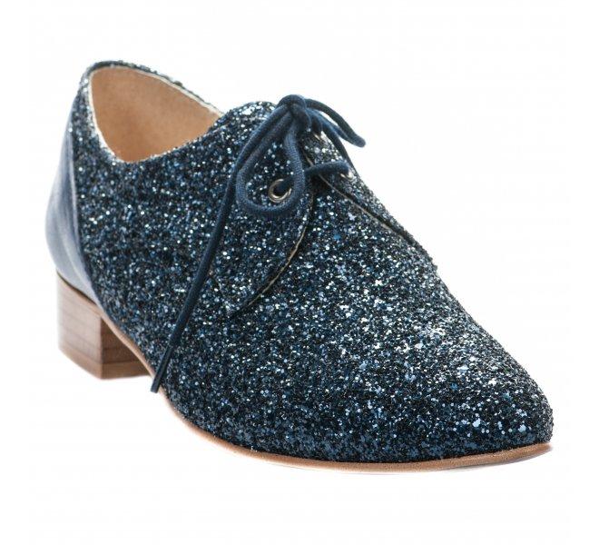 Chaussures à lacets femme - AMBIANCE - Bleu