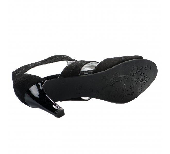 Nu pieds femme - REGARDE LE CIEL - Noir