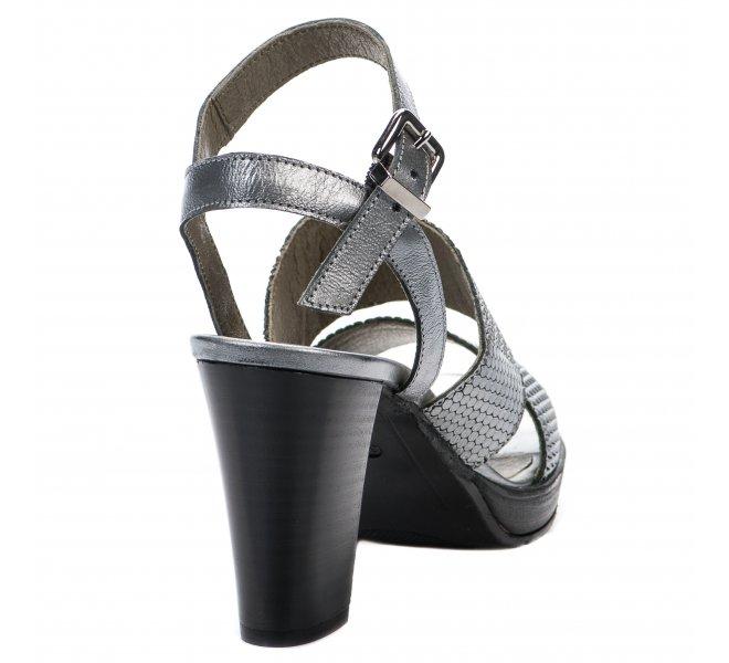 Nu pieds femme - LIFE - Gris