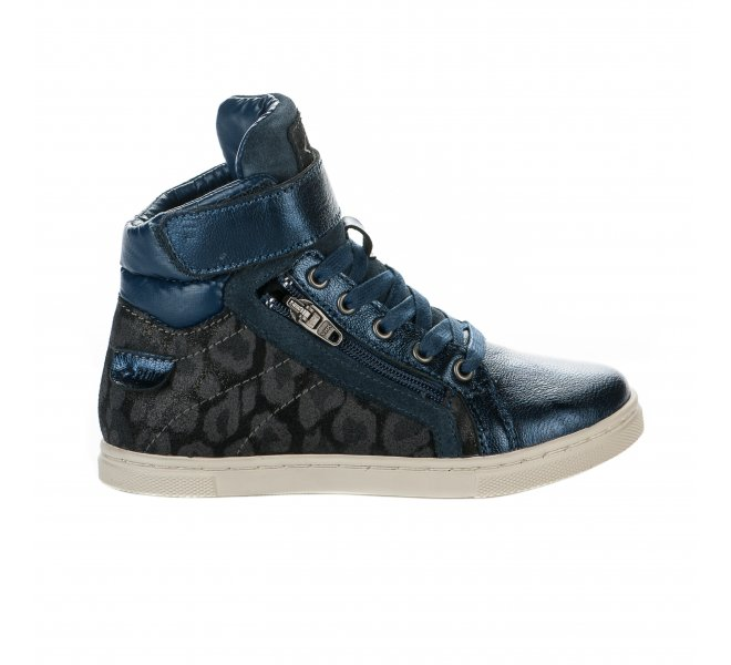 Baskets fille - PLDM - Bleu marine