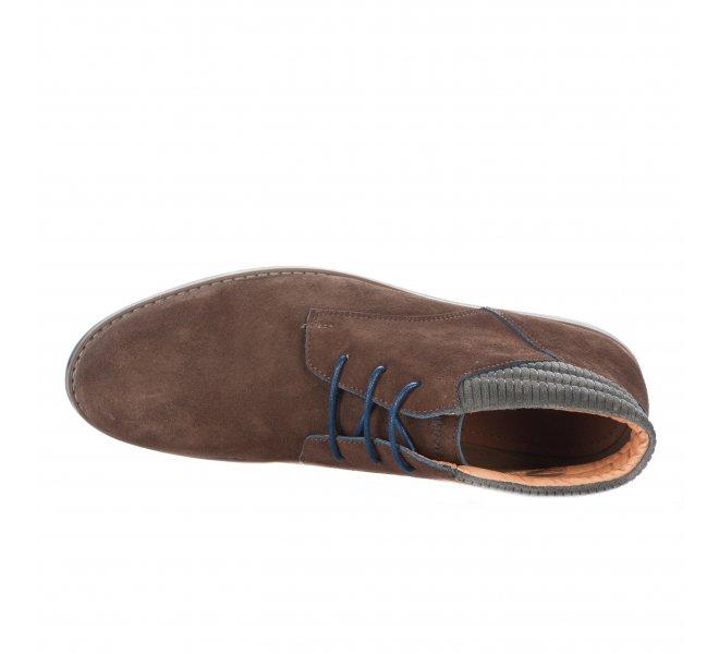Chaussures à lacets homme - SCHMOOVE - Marron