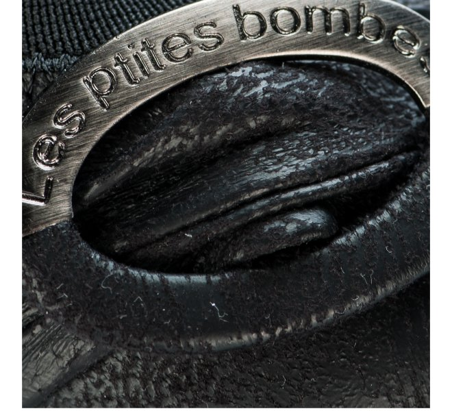 Ballerines fille - LES PETITES BOMBES - Noir