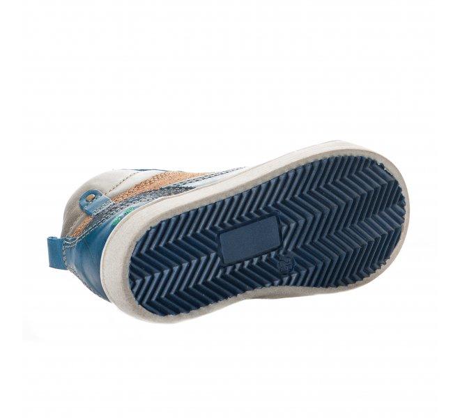 Bottines garçon - BUNNIES - Bleu
