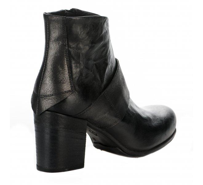 Boots femme - KHRIO - Noir