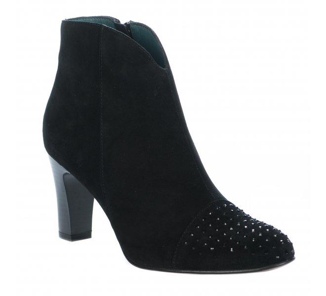 Boots femme - KARSTON - Noir