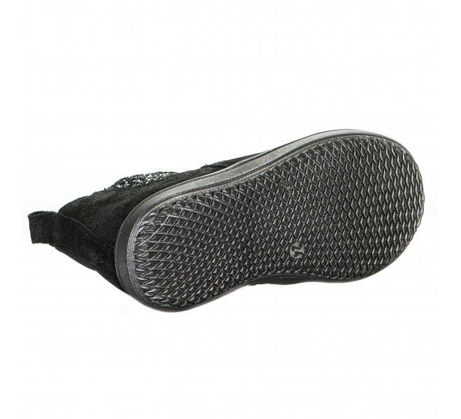Boots fille - ACHILE - Noir