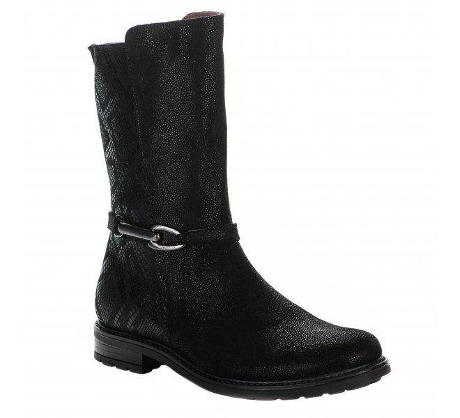 Boots fille - BELLAMY - Noir
