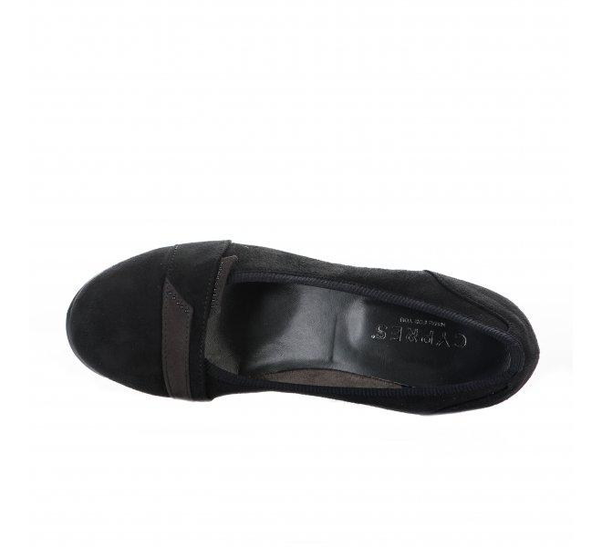 Chaussures de confort femme - CYPRES - Noir