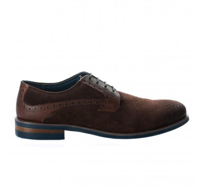 Chaussures à lacets homme - DANIEL KENNETH - Marron