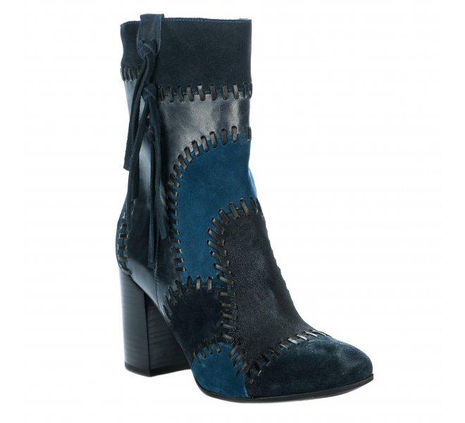 Boots femme - MAM'ZELLE - Bleu