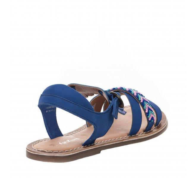 Nu-pieds fille - KICKERS - Bleu