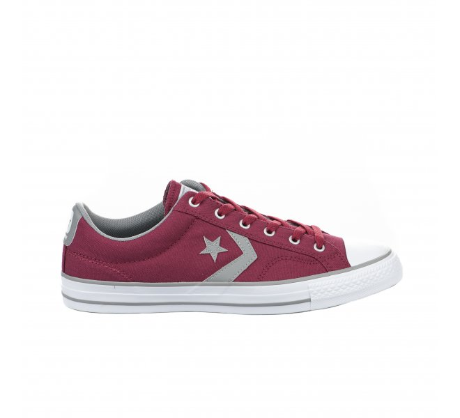 Baskets Converse rouge bordeaux garçon STAR PLAYER OX