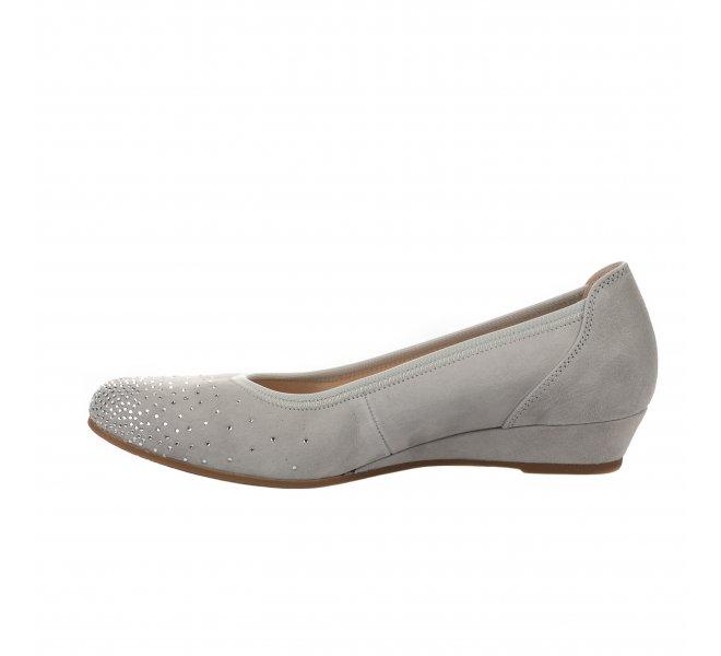 Chaussures de confort femme - GABOR - Gris clair