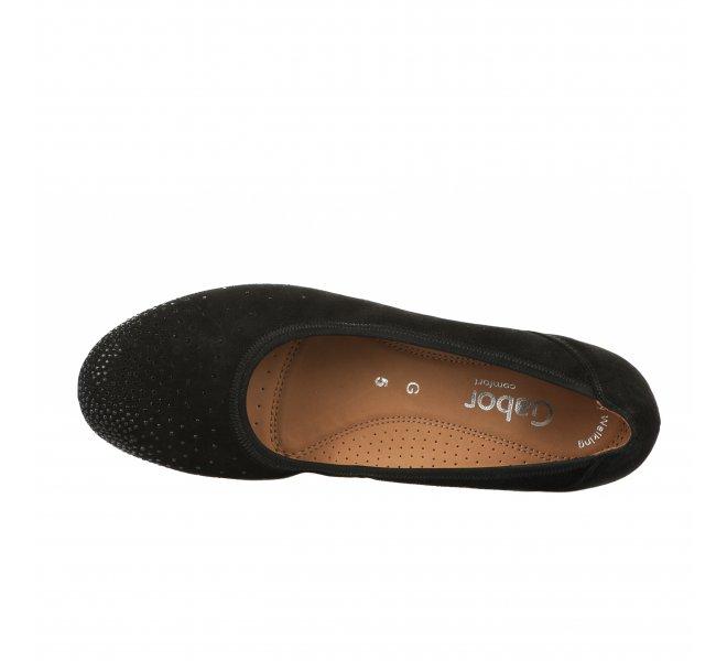 Chaussures de confort femme - GABOR - Noir