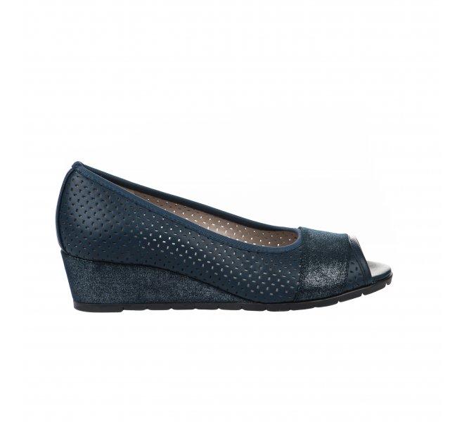 Chaussures de confort femme - CYPRES - Bleu