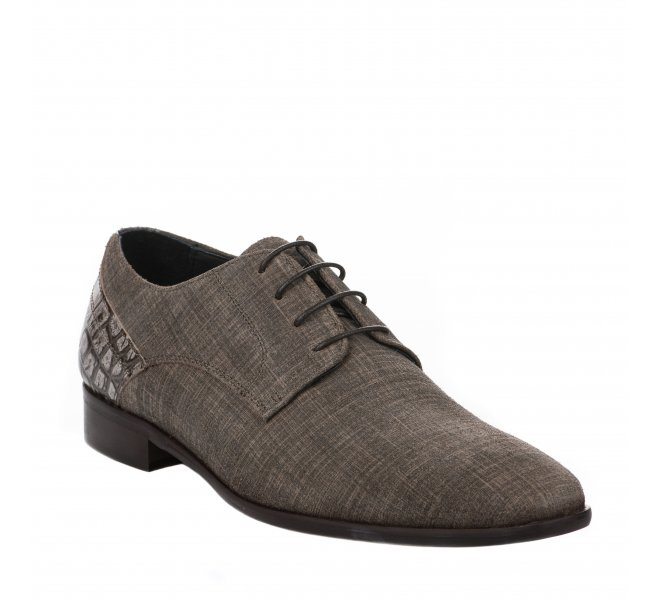 Chaussures à lacets homme - DANIEL KENNETH - Taupe
