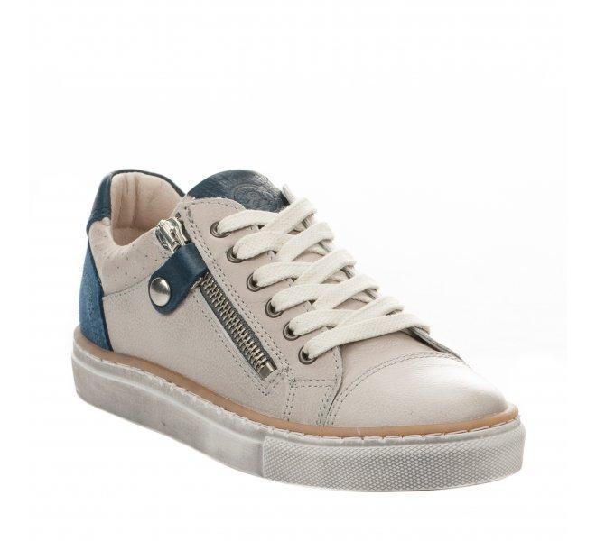Chaussures à lacets garçon - B&CO - Gris clair