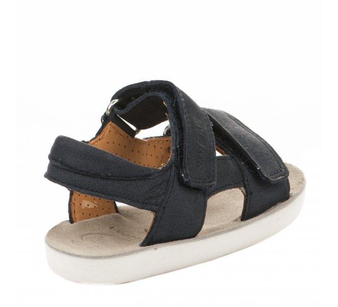 Nu-pieds garçon - SHOO POM - Bleu marine