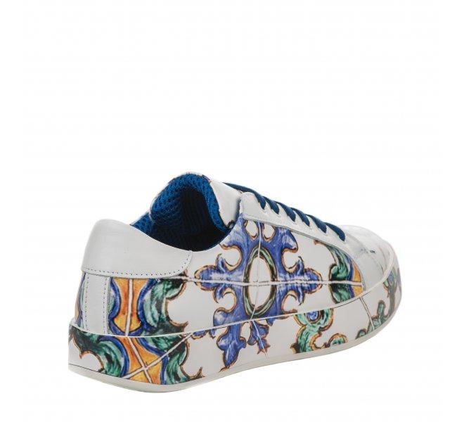 Baskets mode femme - J QUINN - Blanc