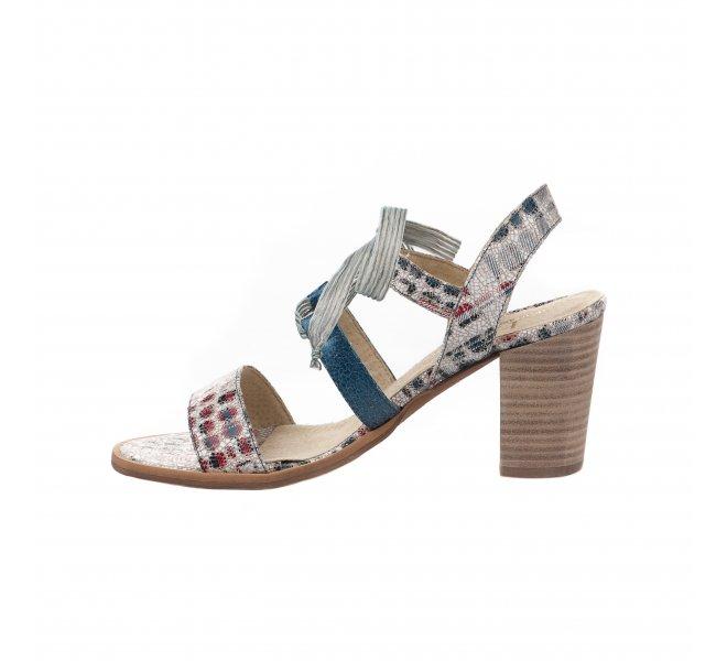 Nu pieds femme - HDC - Multicolore