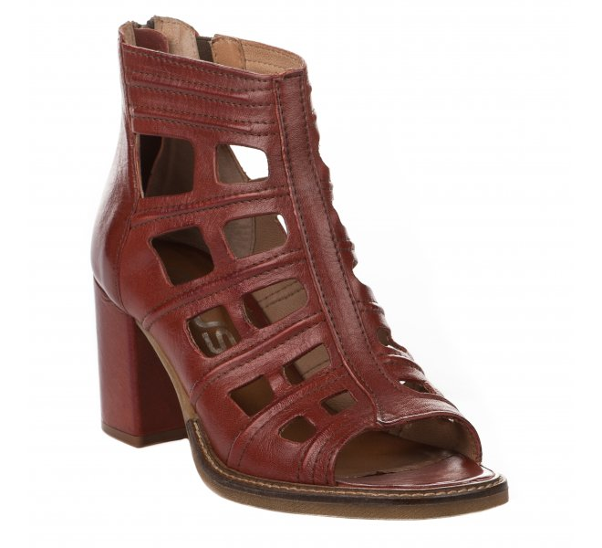 Escarpins femme - MJUS - Terracotta