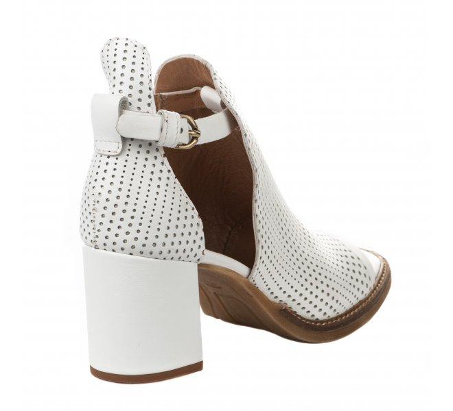 Nu pieds femme - MJUS - Blanc