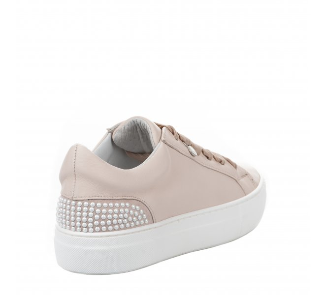 Baskets mode femme - MIGLIO - Rose poudre