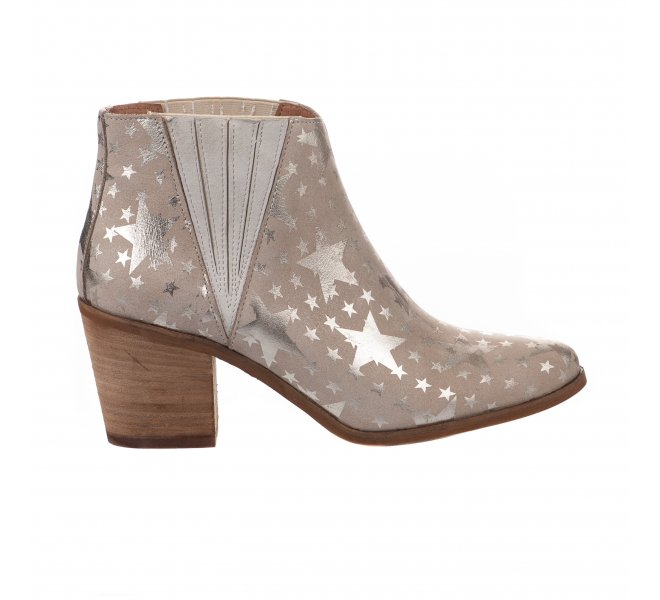 Boots femme - MIGLIO - Taupe