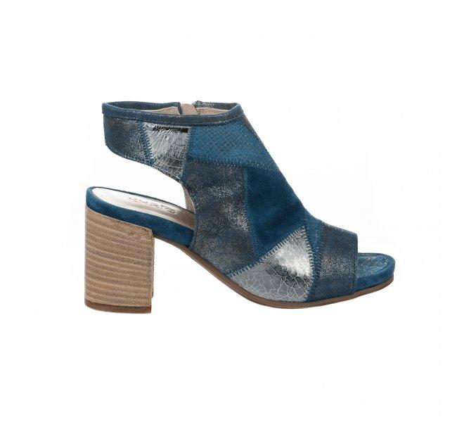 Nu pieds femme - KHRIO - Bleu