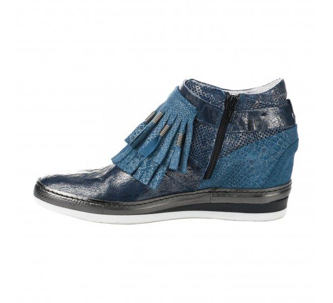 Baskets mode femme - KHRIO - Bleu