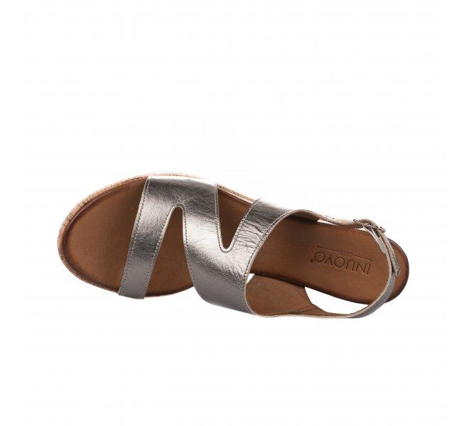 Nu pieds femme - INUOVO - Bronze