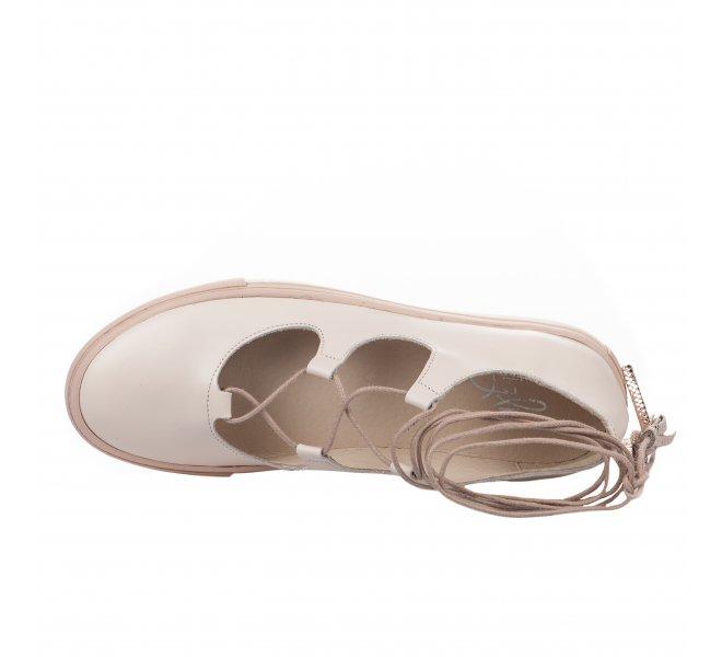 Ballerines femme - MIGLIO - Rose poudre