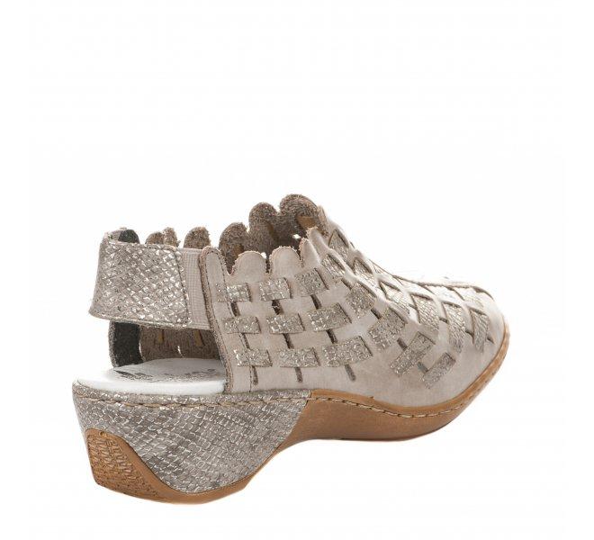 Chaussures de confort femme - RIEKER - Taupe