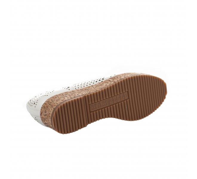 Chaussures à lacets femme - MAM'ZELLE - Ecru